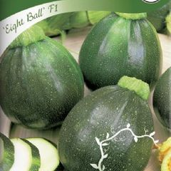 Foto: Courgette 'Eight Ball' F1