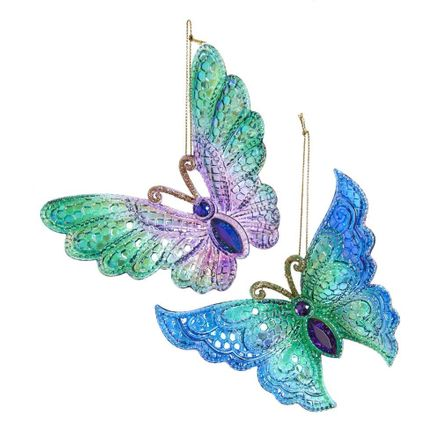 Iridescent Peacock Butterfly