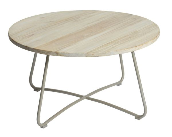 Max&luuk Lily Coffee Table Diameter80,5x43 Cm Taupe