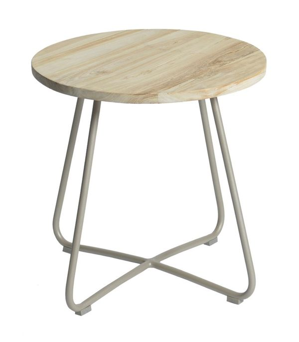 Max&luuk Lily Side Table Diameter56,5x50 Cm Taupe
