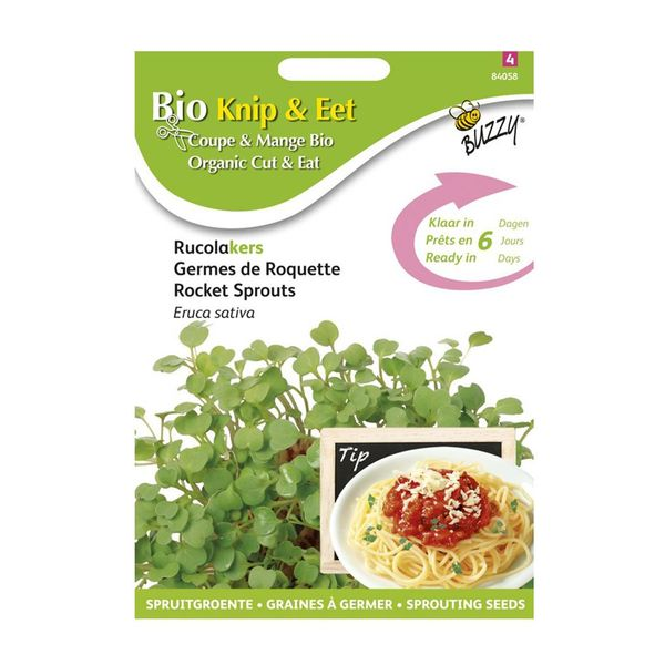 Buzzy® Organic Sprouting Rucolakers  (BIO)