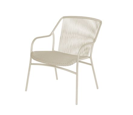 Sophie Stacking Lounge Chair Taupe