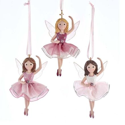Pink Fairy With Iridescent Wings 3.6 Inch