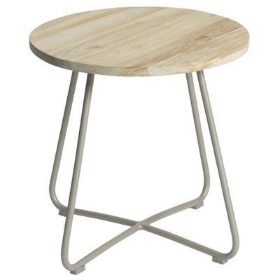 Foto 1 Max&luuk Lily Side Table Diameter56,5x50 Cm Taupe