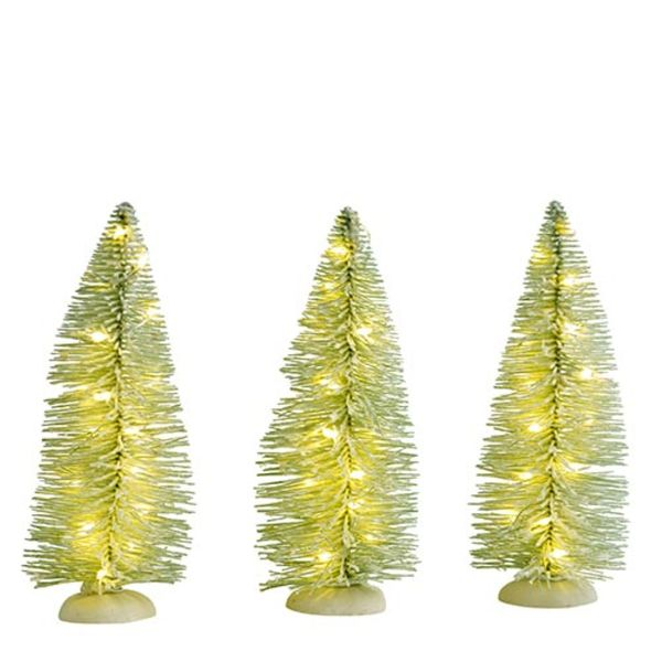 Luville Frosted Tree Warm White Lights 3x