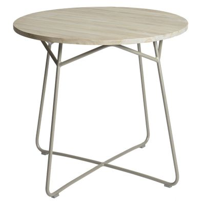 Max&luuk Lily Table Diameter95x74 Cm Taupe