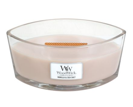 Woodwick Ww Vanilla & Sea Salt Ellipse Candle