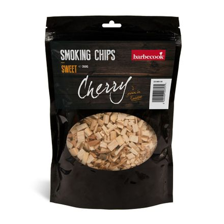 Barbecook rookchips kers zoet ±350g (per 6st.)
