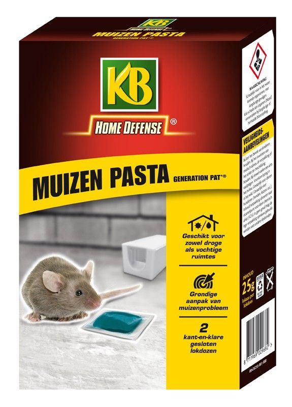 Kb Home Defence Muizen Pasta Generation Pat