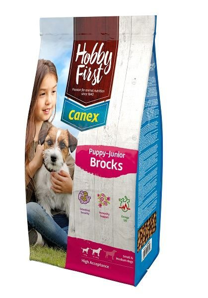 Canex Puppy-Junior Brocks 12Kg