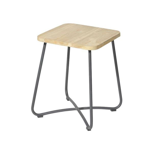 Max&luuk Liz Side Table 40x40x50 Cm Anthracite