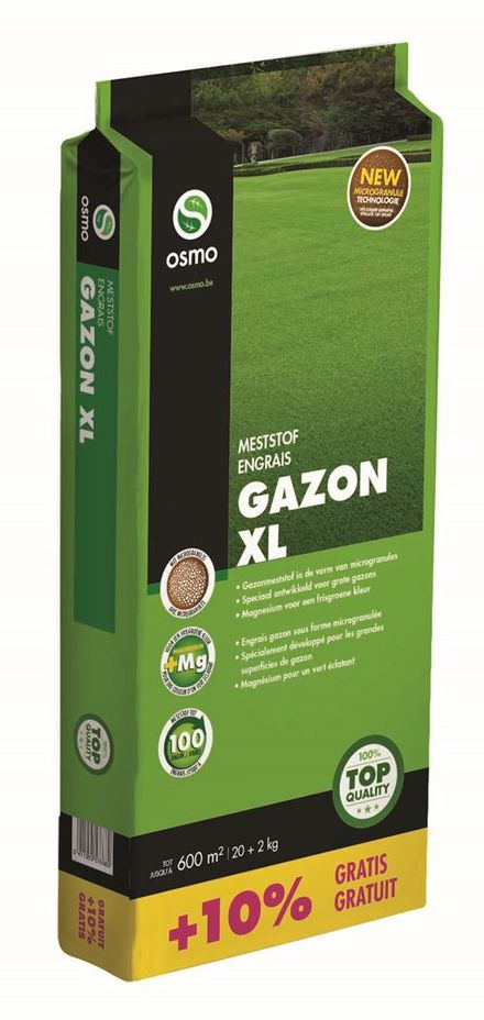 OSMO Gazon XL 11-5-5 Mg 20+2kg - 22kg