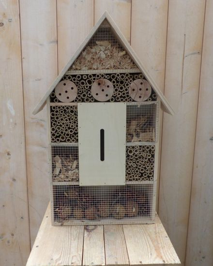 Insect Hotel Hout 38x11x57