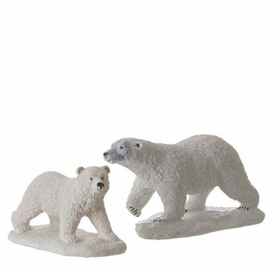 Luville Polar Bear White - 2 St.