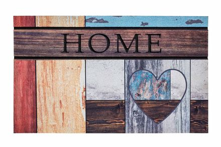 Residence Top Wooden Heart 45x75