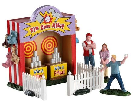 Tin Can Alley, Set Of 7