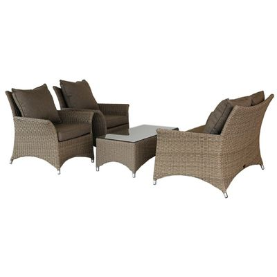 Foto 1 Oosterik Home Loungeset San Marco Calabria Brown