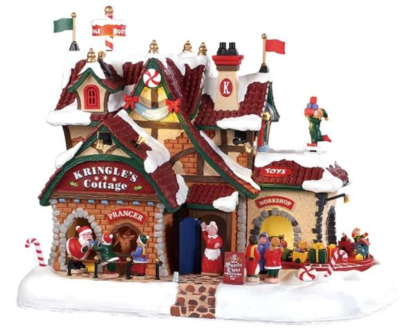 Lemax Kringle's Cottage With 4,5v Adaptor