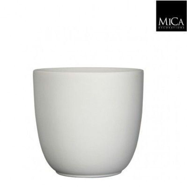 MICA Tusca Overpot Wit 8.5cm