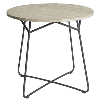 Max&luuk Lily Table Diameter95x74 Cm Anthracite