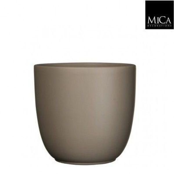 MICA Tusca Overpot Taupe 10cm