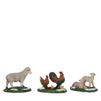 Luville Sheep And Lamb - 3 St.