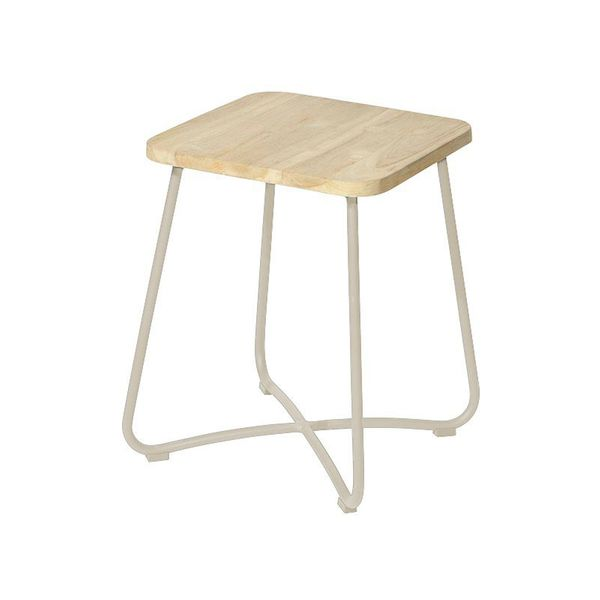 Max&luuk Liz Side Table 40x40x50 Cm Taupe