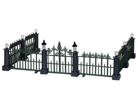 Classic Victorian Fence Lemax