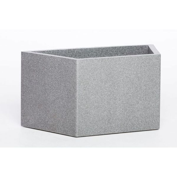 Iq Dutch Design Pot Trapezium 68x35x38 Grijs