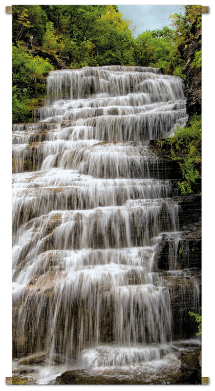 Banner Waterval L170b85cm