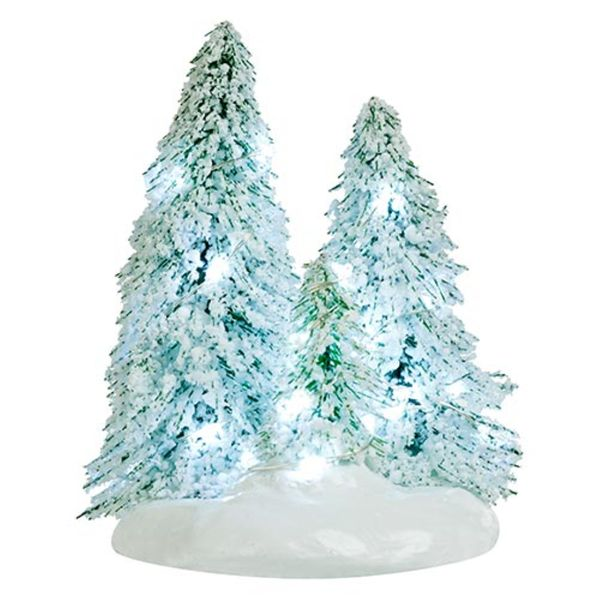 Luville Snowy Trees On Base - Small