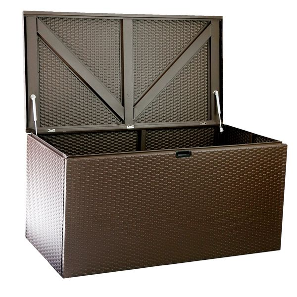 Arrow Designer Storage Box Chest - bruin