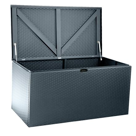 Designer Storage Box Chest - Antraciet