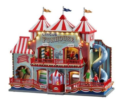 Circus Funhouse, With 4.5v Adaptor