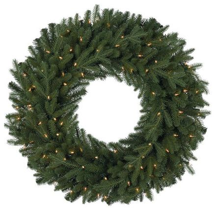 Tree_classic Northern Spruce Krans 60 Cm Met Warm Led