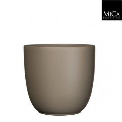 Tusca Overpot Taupe 17cm