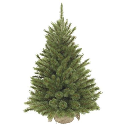 Triumph Tree Kerstboom Burlap Forest Frosted H90