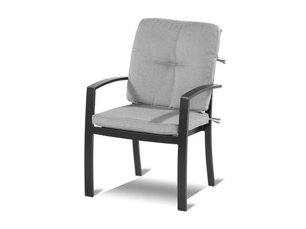 New Jo Dining Chair Pewter Cus