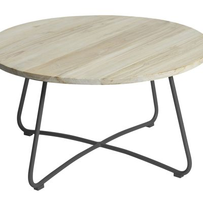 Max&luuk Lily Coffee Table Diameter80,5x43 Cm Anthracite