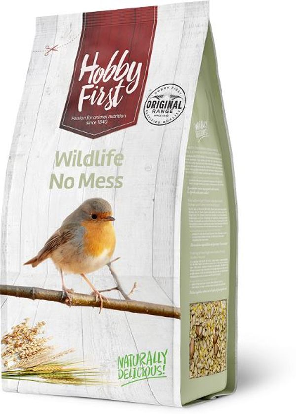 Hobby First Wildlife No Mess 4 Kg