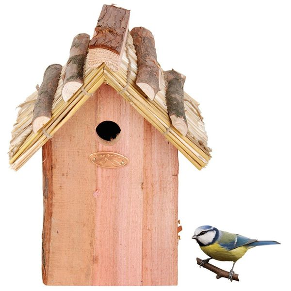 Best For Birds Nestkast Pimpelmees Rieten Dak