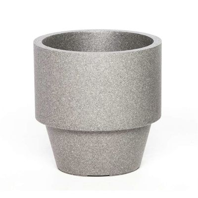 Iq Dutch Design Pot Montreux Rond 38x25x38 Grijs